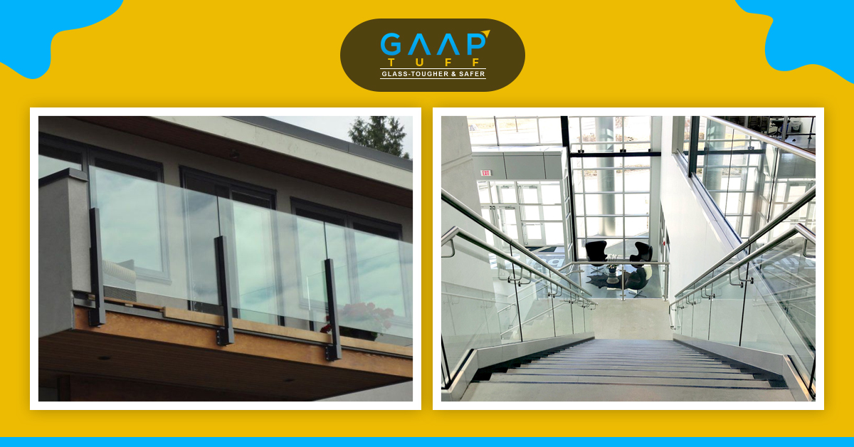 Glass Railings for Home or Offices