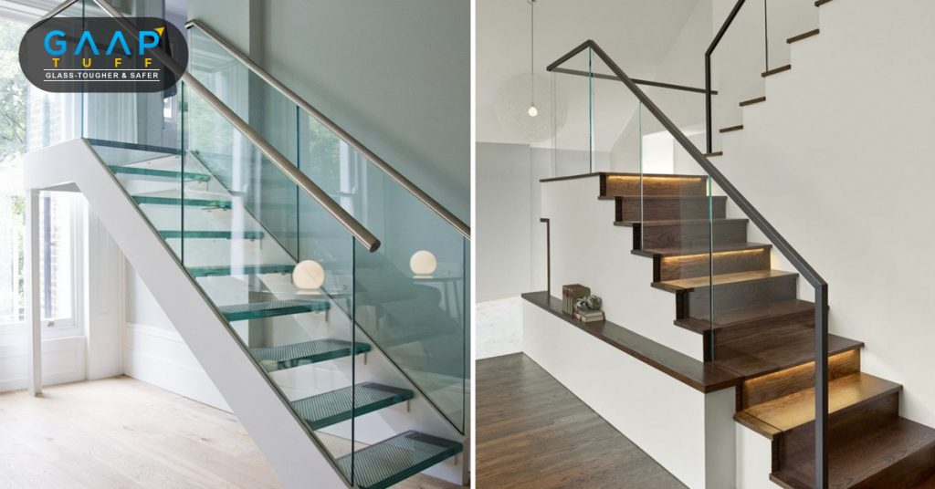 Types of Glass railings