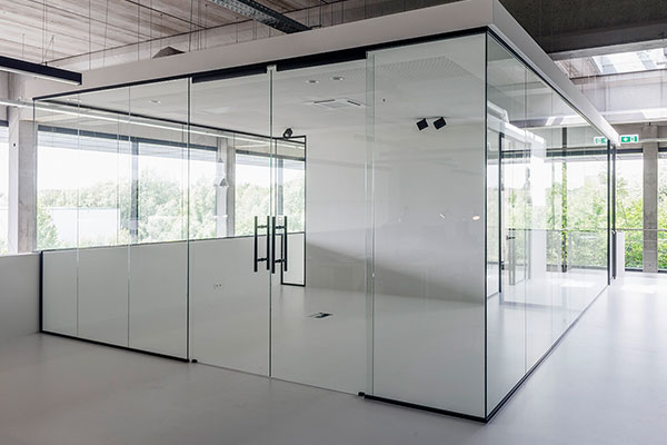 Modern Office Cabin Partition